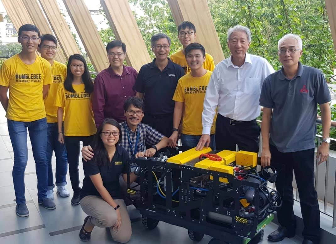 with SM Teo Chee Hean